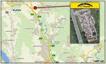 Auto-Global autovrakoviště Brno - mapka